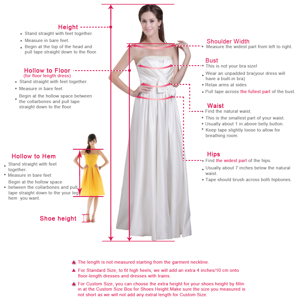 How to measure of vvdresses.Com