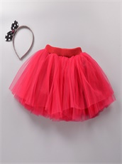 Little Girls Wear Colorful Mini Skirt Birthday Pagent For Cheap