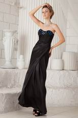 Ankle Length Skirt Cheap La Femme Prom Dresses Black