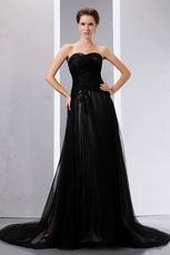 Tide Buy Black Net Celebrity Evening Party Dress