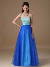 Best Deals Crystals Ultramarine Custom Evening Dresses Online