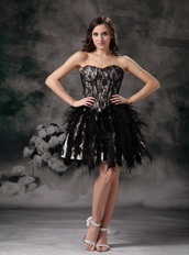 Black Sweetheart Cocktail Dress Made By Lace And Feather Unique