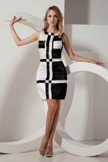 Fashion Scoop Quality Homecoming Dress Black And White