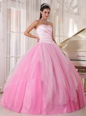 Lovely Pink Girls Prefer Quinceanera Dress Fading Color Fabric