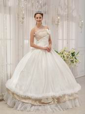 Wholesale Strapless White Bar Mitzvah Quinceanera Dress