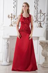 Halter Sweetheart Long Wine Red Stain Celebrity Prom Dresses