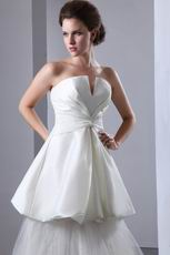 Beautiful V-Shaped Strapless Corset Make Your Own Wedding Dress