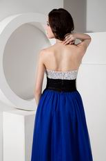 Stylish Royal Blue Beaded Evening Dresses Discount