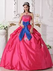 Cheap Price 2014 Top Quinceanera Dress With Bowknot