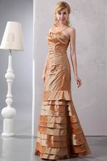 Mermaid Layers Skirt Mother Of The Bride Dress With Jacket