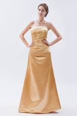 Beautiful Floor Length Jasmine Golden Formal Ocassion Dress
