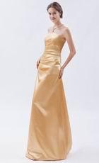 Beautiful Floor Length Jasmine Golden Formal Ocassion Dress