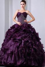 Dress Like A Princess Grape Quinceanera Dresses Under $250