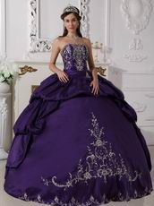 New Arrival Styles Indigo Quinceanera Prom Party Dress