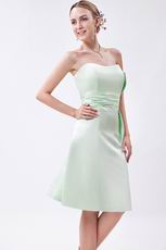 Wholesale Pale Green Beach Party Bridesmaid Dresses