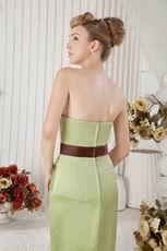 Best Seller Sweetheart Mermaid Olive Green Petite Prom Dress