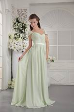 Yellow Green Off The Shoulder Make Your Own Prom Dress