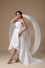 Sweetheart 2014 New Fashion High-low Prom Dress