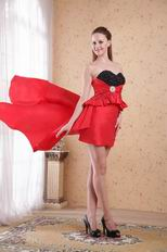 Red New Trender Hi-Lo Prom Dress For Women Wear