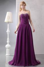 Affordable Purple Mother Of The Bride Dress At Wholesale Price