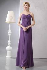 Cirss Cross Mediun Orchid Mother Of The Bride Dress