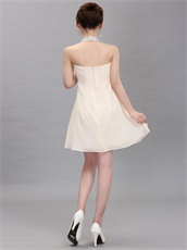 Hot Sell Beaded Homecoming Short Dress By Champagne Chiffon