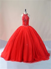 Designer Style Real Products No Retouch Red Very Puffy Vestidos De Dress