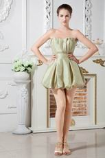 Sexy Sweetheart Olive Taffeta Sweet 16 Dress For Discount