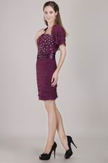 Dark Purple Dress to Wear For Mother Of The Bride