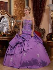 Dark Orchid Elegant Winter Quinceanera Dress Warm