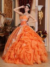 Where Can I Find 2014 Winter Quinceanera Dress Orange