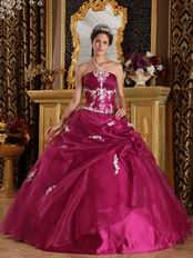 Ruby Strapless Floor Length Ball Dress To Military Party