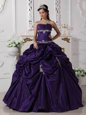 Dark Slate Blue Pretty Quinceanera Dress For Discount