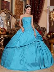 Sky Blue Quinceanera Dress Make Your Own Quinceanera