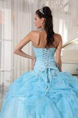 Baby Blue Top 100 Quality Quinceanera Dress For Discount