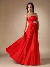 Best Deals Scaret Strapless Floor-length Prom Dress UK