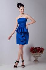 Inexpensive Junior Bridesmaid Dress In Royal Blue