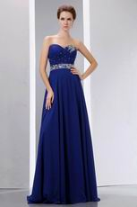 Different Sweetheart Sapphire Blue Prom Dress Online