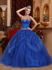 Sweetheart Royal Blue Floor Length Ball Dresses Internet Shop