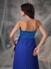 Royal and Sky Blue Stitched Together Prom Dress For Women Inexpensive