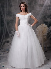 Beautiful Off The Shoulder Winter Prom Ball Gown Cheap Inexpensive