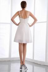 Appliqued Spaghetti Straps Custom Made Sweet 16 Dress