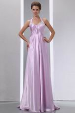 Not Expensive Halter Sweetheart Light Violet Prom Dresses