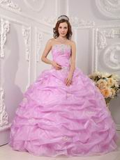 2014 Make Your Own Quinceanera Dress In Lilac Pink