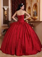 Inexpensive Wine Red Dress Quinceanera Top Designer