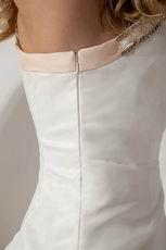 One Shoulder Fading Color Mermaid Layers Ruffles Wedding Dress