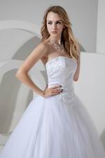 Best Seller Sweetheart White Bridal Chapel Wedding Dress Cheap