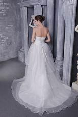 A-Line Princess Designer Wedding Dress For 2018 Wedding