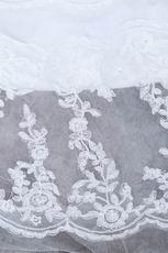 Inexpensive Strapless Mermaid Chapel Wedding Dress With Belt