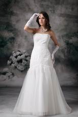 Perfect Mermaid Custom Fit 2014 Wedding Party Bride Dress